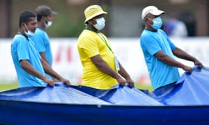 The Galle ground staff have been busy today.