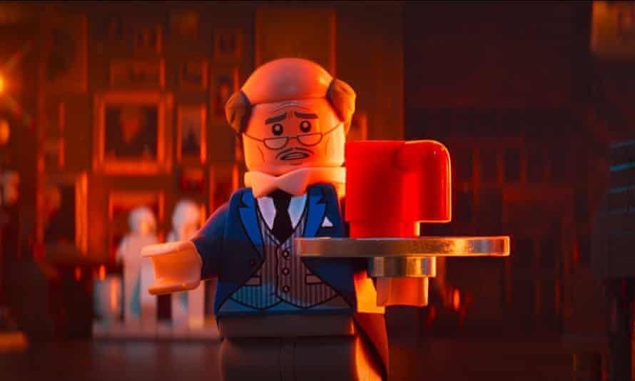 Alfred Pennyworth in The Lego Batman Movie.