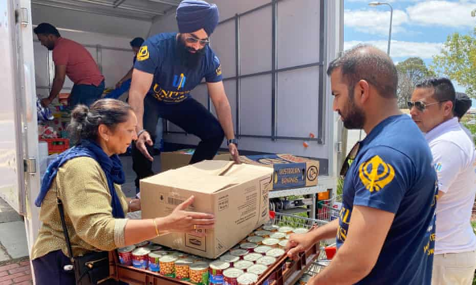 A United Sikhs food delivery