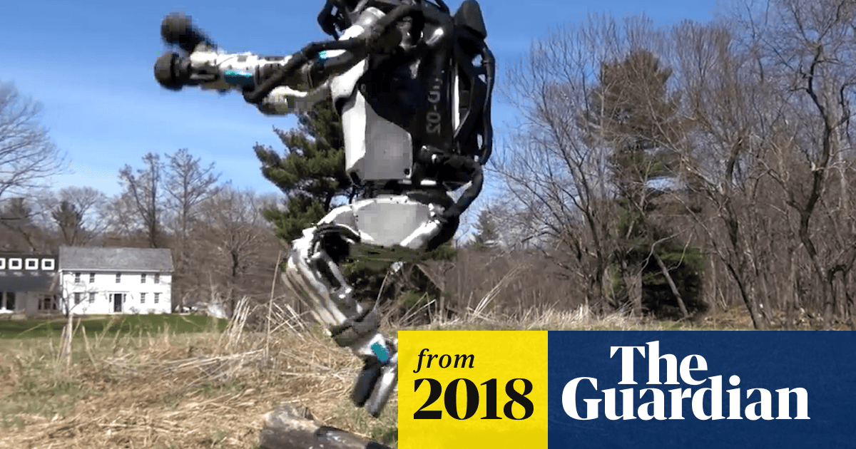 Robot built by Boston Dynamics can run and jump – video