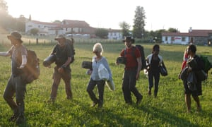 Celebrity walkers on The Road to Santiago: 'An activity will give you something to focus on, to talk about, and to anchor your time together.'