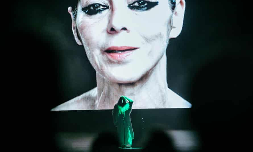 Anohni: she supplied the voice, screen avatars supplied the face.