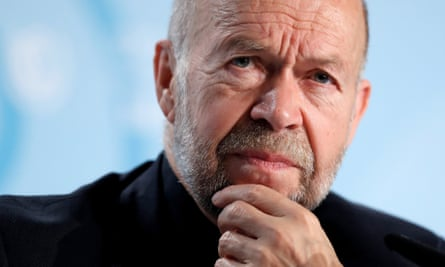 James Hansen in Bonn: he and his fellow Nasa researchers first raised the alarm about global warming in the 1980s.