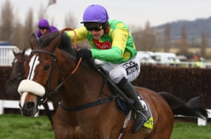 Ruby Walsh and Kauto Star pull clear on their way to victory in the 2009 Cheltenham Gold Cup.