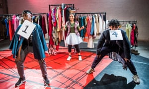 KJ Gomez-Danso, Kiki Bowen and Yaamin Chowdhury in The Act.