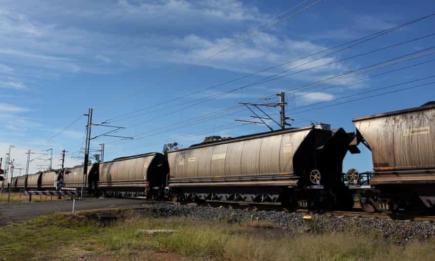 A coal train in Queensland