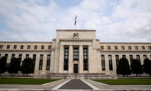 The US Federal Reserve headquarters in Washington, DC.