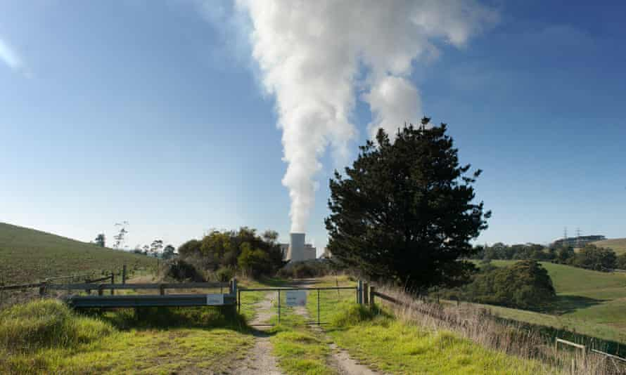 File photo of the Yallourn coal-fired power station in the Latrobe Valley, Australia