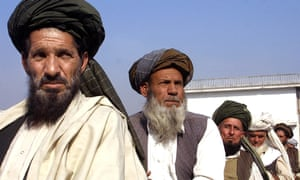 Ahmed Zai tribesmen, the biggest Pashtun clan in Afghanistan.
