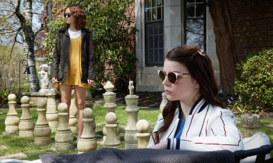 Your move … Olivia Cooke and Anya Taylor-Joy in Thoroughbreds.
