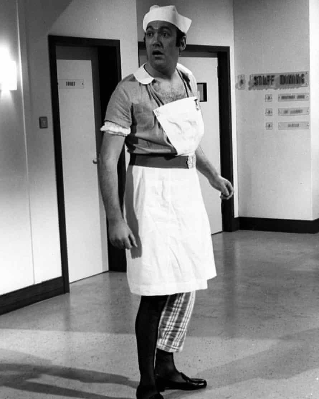 Demeaning … Bernard Bresslaw in Carry On Doctor (1967).