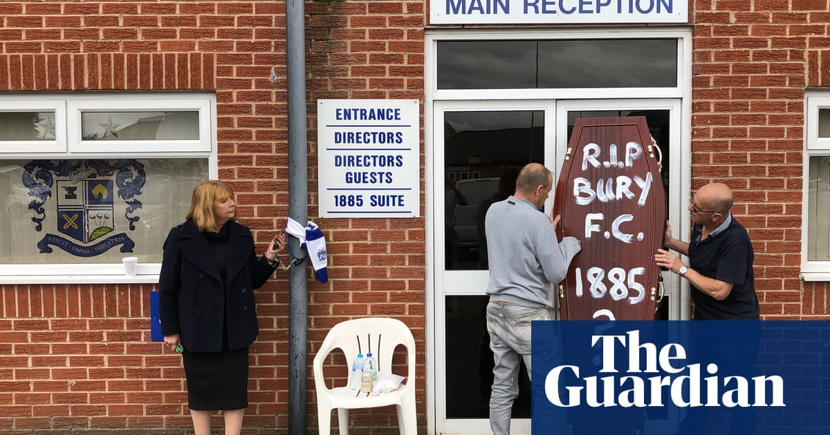 The Fiver | This whole sorry saga at Bury