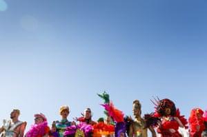 Rio-style costumes