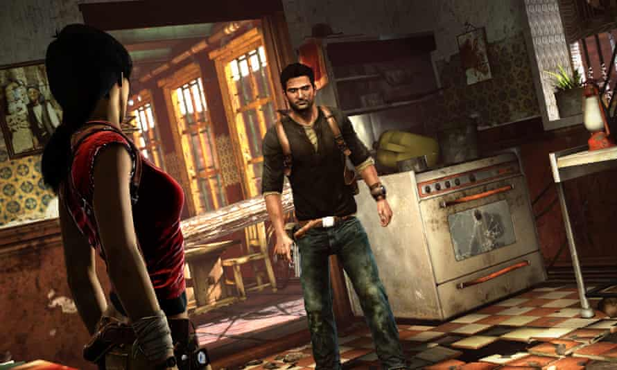 Breathtaking set-pieces and exciting lore … Uncharted 2: Among Thieves.