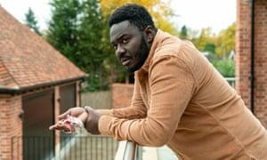 Babou Ceesay as Manny Mensah in the BBC drama Dark Money.