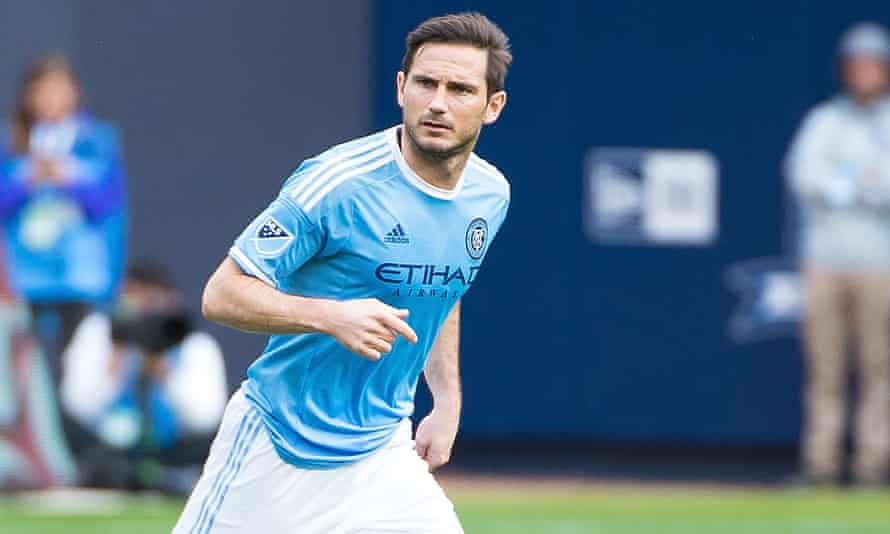 Frank Lampard has two goals in his last two games for New York City FC.