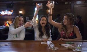Kristen Bell, Mila Kunis, Kathryn Hahn.