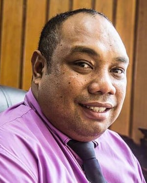 PNG's Health Minister Jelta Wong.