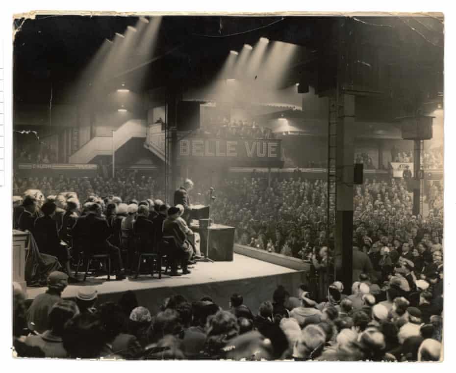 Sir Anthony Eden, Kings Hall, Belle Vue 1955
