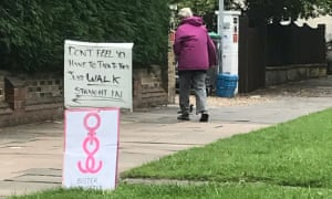 Pro-choice campaigners outside the Marie Stopes abortion clinic in Ealing, London.