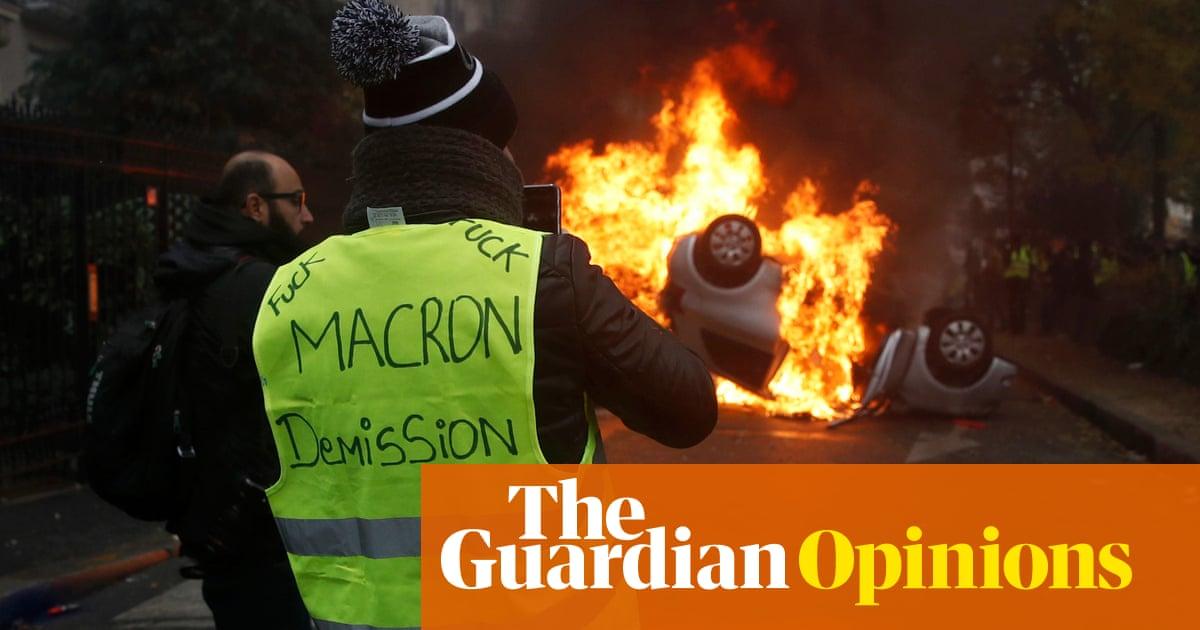 Macron's politics look to Blair and Clinton  The backlash