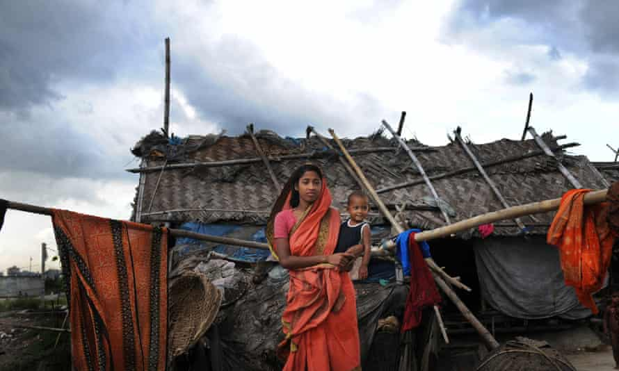 18 year old Suriya Begum, a slum dweller in Bangladeshi capital Dhaka, moved from the southern coast to Dhakain search of a better life.