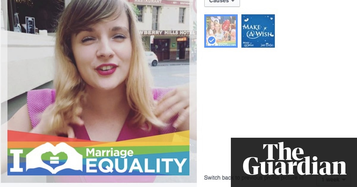 Facebook offers custom Australian Marriage Equality profile photo ...