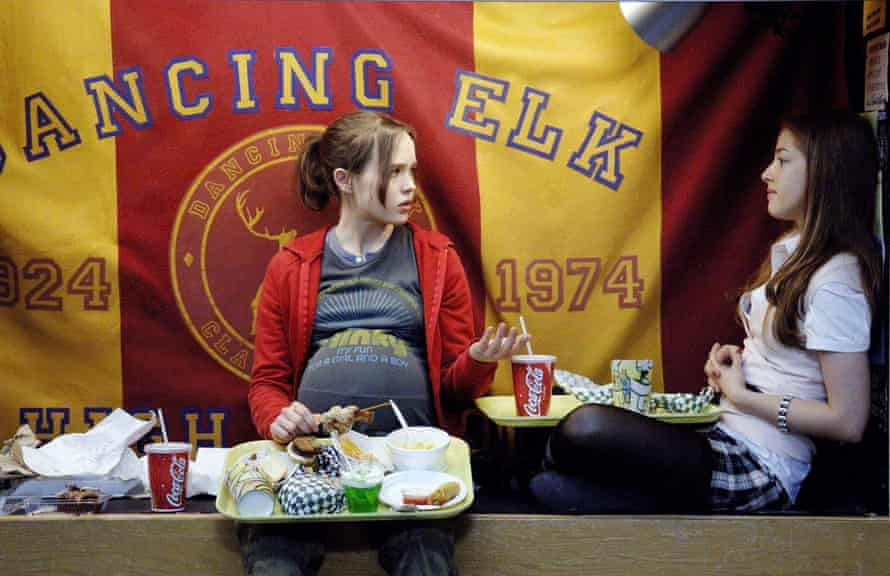 A genre reborn … Ellen Page, left, with Olivia Thirlby in the teenage pregnancy comedy Juno.