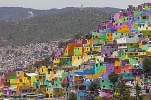 pachuca mexico palmitas mural