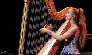 Joanna Newsom performs at the Sydney Opera House