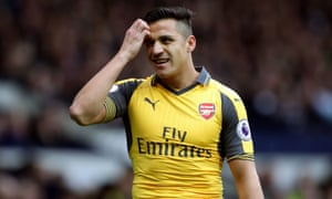 Alexis Sánchez will have 12 months on his Arsenal contract remaining in the summer and is seeking to double his existing weekly wage of £130,000