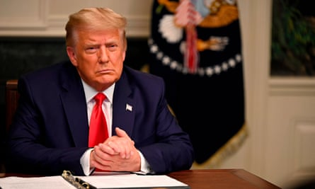Donald Trump holds a Thanksgiving teleconference with troops at the White House, after which he said he would accept the electoral college vote.