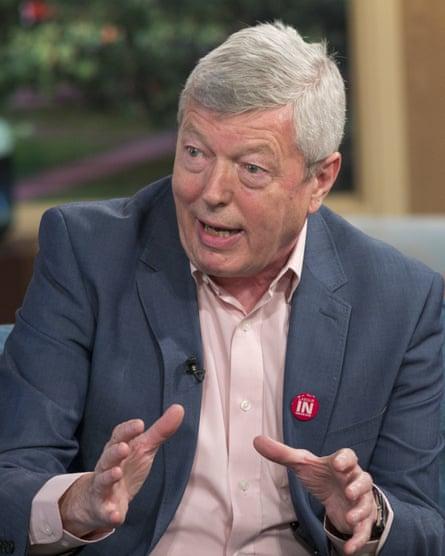 Alan Johnson, former Labour home secretary.