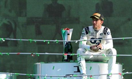 Lewis Hamilton praises Pierre Gasly's journey from demotion to maiden win