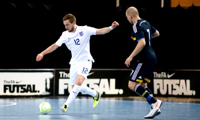 England finally put their best foot forward in the futsal revolution