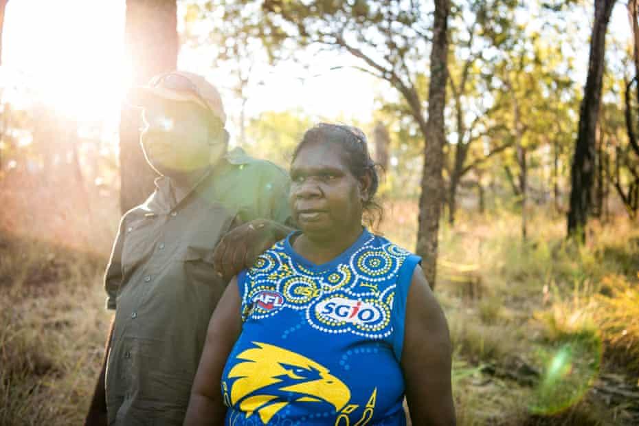 Robin Dann and partner Tanya Spider at Ngallagunda.
