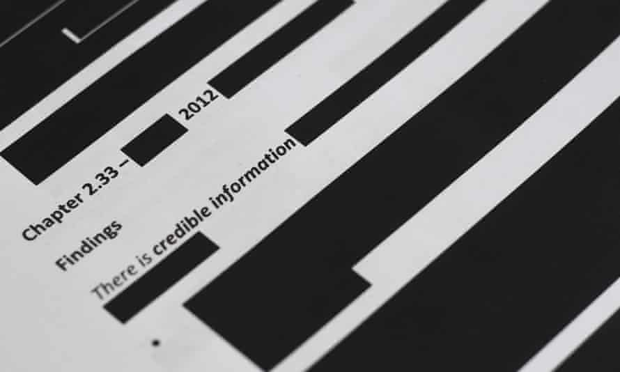 Redacted sections of the Brereton report into alleged war crimes by Australian troops in Afghanistan