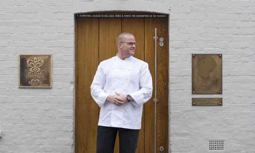 Heston Blumenthal at the Fat Duck in Bray, Berkshire.