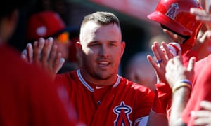 Mike Trout has been named American League MVP twice