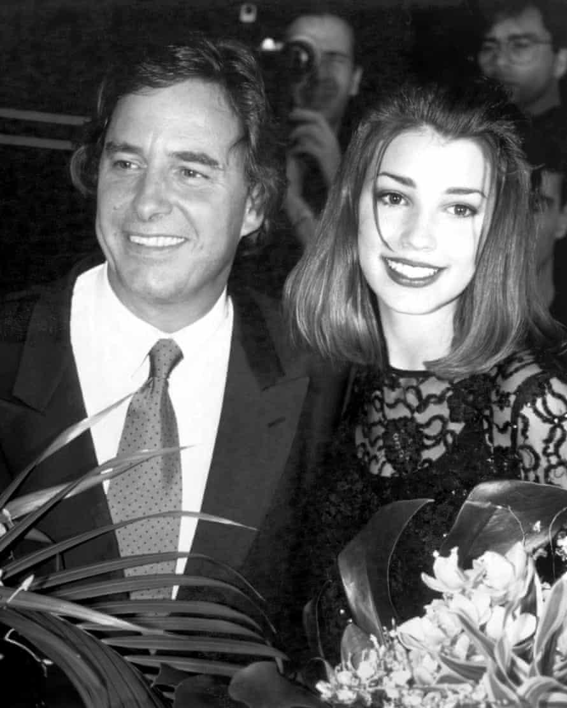 Casablancas with 1992 Look of the Year winner Mariann Molski, then 14