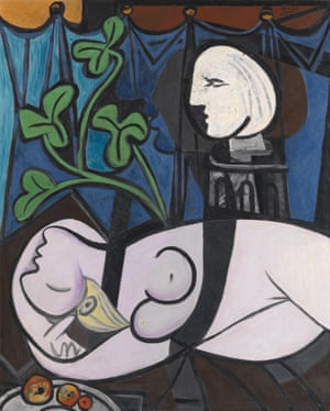 Nude, Green Leaves and Bust, 8 March 1932.