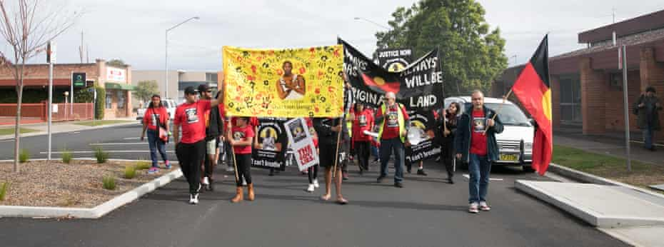 A protest in David's honour was held on Saturday 9 June