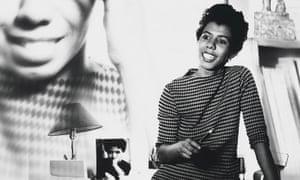 Lorraine Hansberry by David Attie, 1960