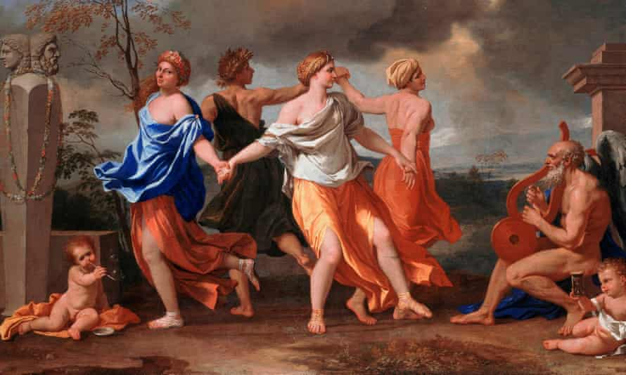 Detail from A Dance to the Music of Time by Nicolas Poussin
