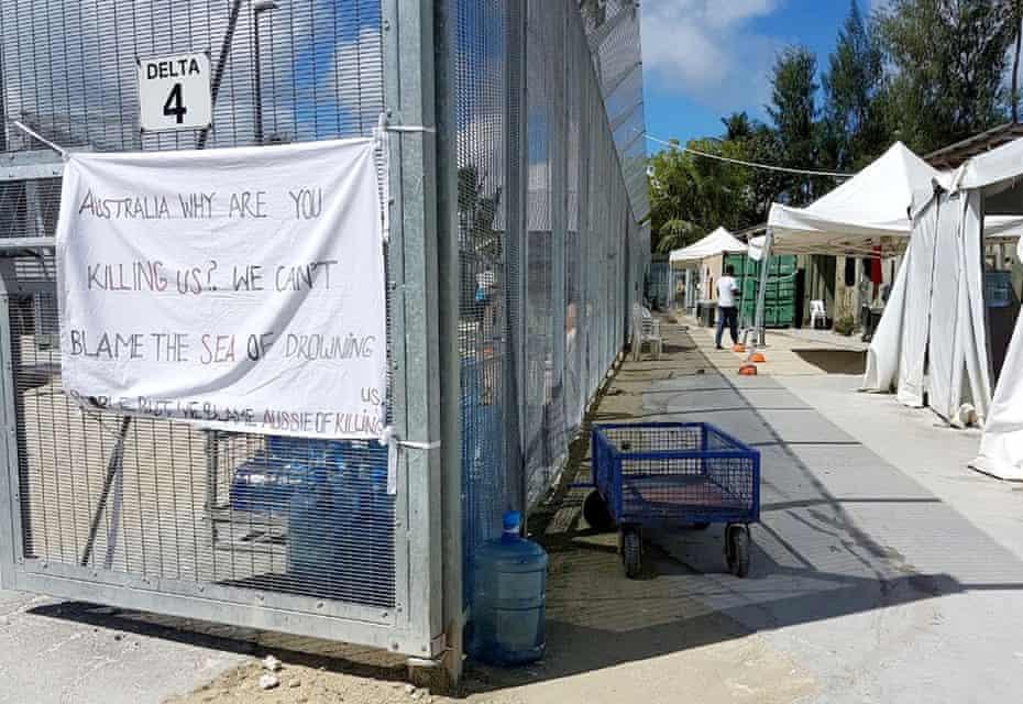 The Australian-run Manus Island detention centre in Papua New Guinea in February 2017.