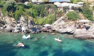 Kavos Bar, Skyros, Sporades, Greece.