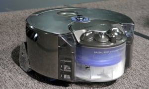 Dyson's first robotic vacuum cleaner will make its UK debut in the new shop.