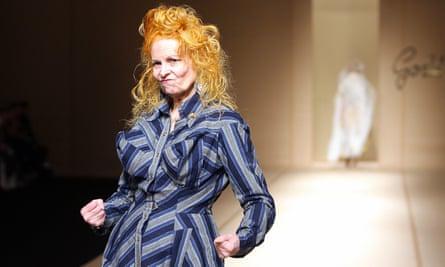 'Britain's last genuine punk' … Vivienne Westwood