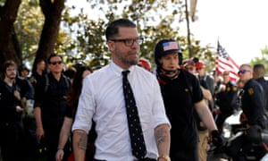 Gavin McInnes founded the self-confessed 'western chauvinist' Proud Boys.