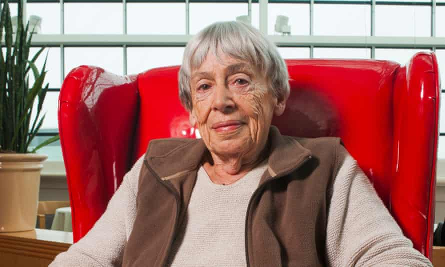 Ursula Le Guin at Wordstock Literary Festival in Portland, Oregon, USA on 9th October 2011.